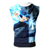 Fairy Tail Gray Ice Tank Top - Fairy Tail 3D Printed Sleeveless Hoodie