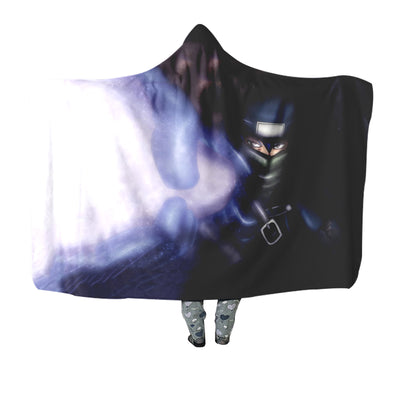 Fairy Tail Mystogan Hooded Blanket - Fairy Tail 3D Printed Hooded Blanket
