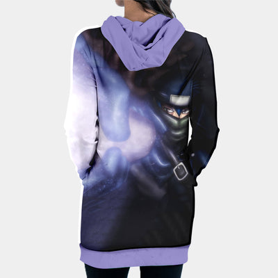 Fairy Tail Mystogan Hooded Dress - Fairy Tail 3D Printed Hoodie Dress