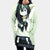 Froppy Fanart Hooded Dress - My Hero Academia 3D Printed Hoodie Dress