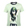 Froppy Fanart T-Shirt - My Hero Academia 3D Printed T-Shirt