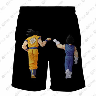 GOKU Dragon Ball 3D Printed Shorts