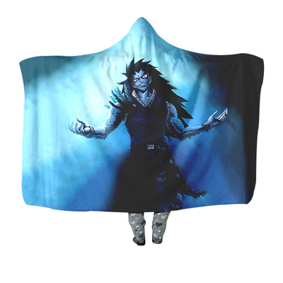 Gajeel Redfox Hooded Blanket - Fairy Tail 3D Printed Hooded Blanket
