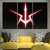Geass Symbol Canvas - Code Geass 3D Printed Canvas