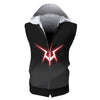 Geass Symbol Hooded Tank - Code Geass 3D Printed Sleeveless Hoodie