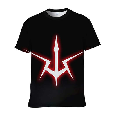 Geass Symbol T-Shirt - Code Geass 3D Printed T-Shirt