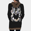 Genei Ryodan Spider Gang Hooded Dress - Hunter x Hunter 3D Printed Hoodie Dress