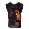 Getsuga Tenshō Final Transform Tank Top - Bleach 3D Printed Sleeveless Hoodie