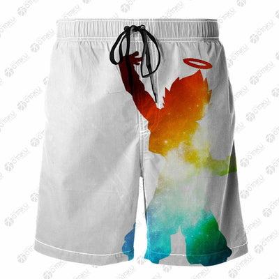 Gogeta Dragon Ball 3D Printed Shorts