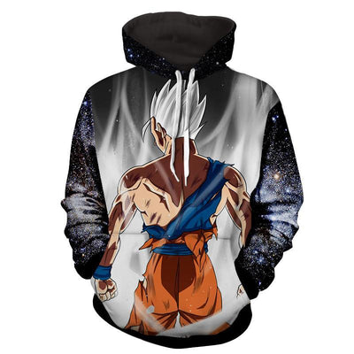 Gohan White Super Saiyan Dragon Ball 3D Hoodie