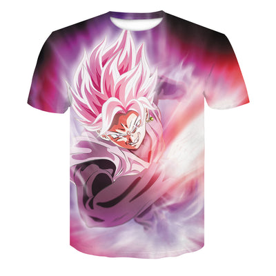 Goku 3D Pink Dragon Ball T Shirt
