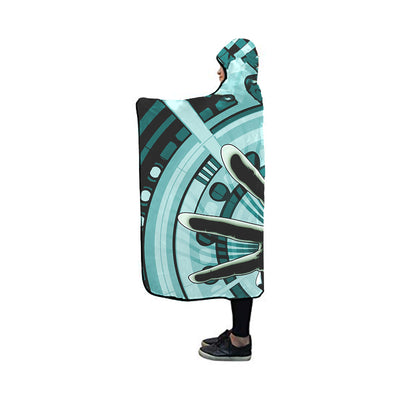 Grimmjow Jaegerjaquez Blanket - Bleach 3D Printed Hooded Blanket