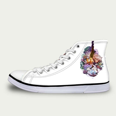 HXH All Characters Shoes - Hunter x Hunter 3D Printed Shoes