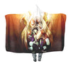 HXH Angel Blanket - Hunter x Hunter 3D Hooded Blanket