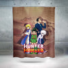 HXH Group Shower Curtain - Hunter x Hunter 3D Printed Shower Curtain