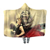Edward & Alphonse Hooded Blanket - Full Metal Alchemist 3D Printed Hooded Blanket