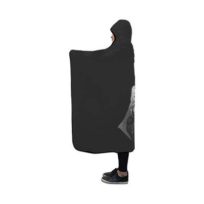 Yagami in Darkness  Hooded Blanket - Death 3D Printed Hooded Blanket