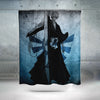 Ichigo Holding Zanpakuto - Bleach 3D Printed Shower Curtain