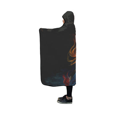 Ichigo Hollow Fire Blanket - Bleach 3D Printed Hooded Blanket