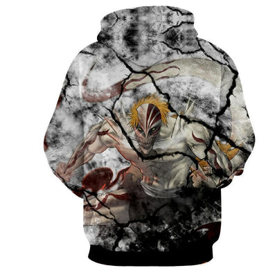 Bleach Ichigo Zangetsu Full Form Hollow Impressive 3D Hoodie