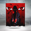Itachi Uchiha Shower Curtain - 3D Printed Naruto Shower Curtain