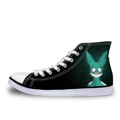 Izuku Midoriya Green Costume - My Hero Academia 3D Printed Shoes