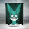 Izuku Midoriya Green Costume Shower Curtain - My Hero Academia 3D Printed Shower Curtain