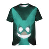 Izuku Midoriya Green Costume T-Shirt - My Hero Academia 3D Printed T-Shirt