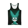 Izuku Midoriya Green Costume Tank Top - My Hero Academia 3D Printed Tank Top