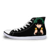 Izuku Midoriya in Darkness Shoes - My Hero Academia 3D Printed Shoes