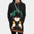 Izuku Midoriya in Darkness Hooded Dress - My Hero Academia 3D Printed Hoodie Dress