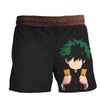 Izuku Midoriya in Darkness Short - My Hero Academia 3D Printed Short