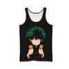Izuku Midoriya in Darkness Tank Top - My Hero Academia 3D Printed Tank Top