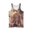 Jean Kirschtein Brown Tank Top - 3D Printed Attack On Titan Tank Top