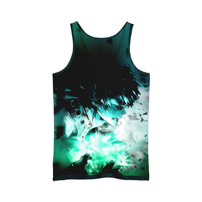 Katsuki Bakugou Green Tank Top - My Hero Academia 3D Printed Tank Top