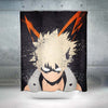 Katsuki Bakugou Shower Curtain - My Hero Academia 3D Printed Shower Curtain