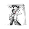 Kenpachi Zaraki Sketch Design Short - Bleach 3D Printed Short