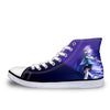 Killua Zoldyck Purple Shoes - Hunter x Hunter 3D Printed Shoes