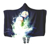 Laxus Dreyar Hooded Blanket - Fairy Tail 3D Printed Hooded Blanket