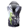 Lelouch & C.C Hooded Tank - Code Geass 3D Printed Sleeveless Hoodie