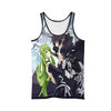 Lelouch & C.C Tank Top - Code Geass 3D Printed Tank Top