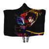 Lelouch Colorful Hooded Blanket - Code Geass 3D Printed Hooded Blanket