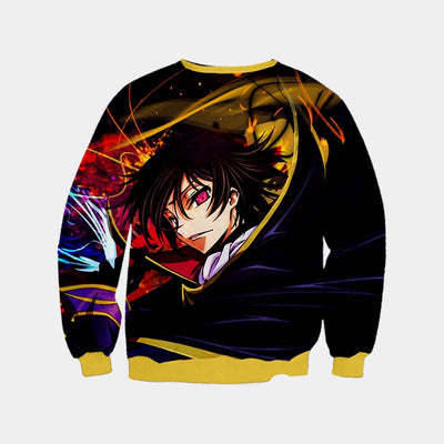 Lelouch Colorful Sweatshirt - Code Geass 3D Printed Sweatshirt