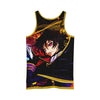 Lelouch Colorful Tank Top - Code Geass 3D Printed Tank Top