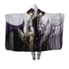 Lelouch & Suzaku Hooded Blanket - Code Geass 3D Printed Hooded Blanket