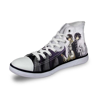 Lelouch & Suzaku Shoes - Code Geass 3D Printed Shoes