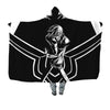 Lelouch Uses Geass Hooded Blanket - Code Geass 3D Printed Hooded Blanket