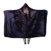 Lelouch in Darkness Hooded Blanket - Code Geass 3D Printed Hooded Blanket