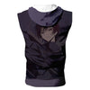 Lelouch in Darkness Hooded Tank - Code Geass 3D Printed Sleeveless Hoodie