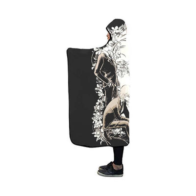 Leorio & Kurapika Sad  Blanket - Hunter x Hunter 3D Hooded Blanket